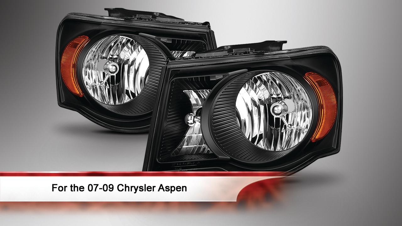 07-09 Chrysler Aspen Oem Style Headlights