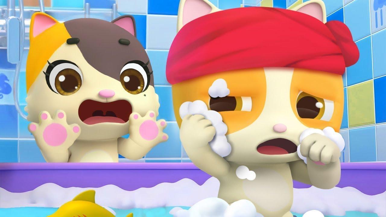 An toàn khi đi tắm | Mèo con Mimi đi tắm | Nhạc thiếu nhi vui nhộn | BabyBus