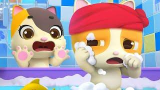 An toàn khi đi tắm | Mèo c๐n Mimi đi tắm | Nhạc thiếu nhi vui nhộn | BabyBus