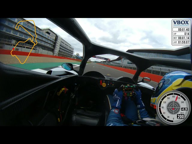 Ross Kaiser driving the Revolution at Silverstone 1 58 Laptime