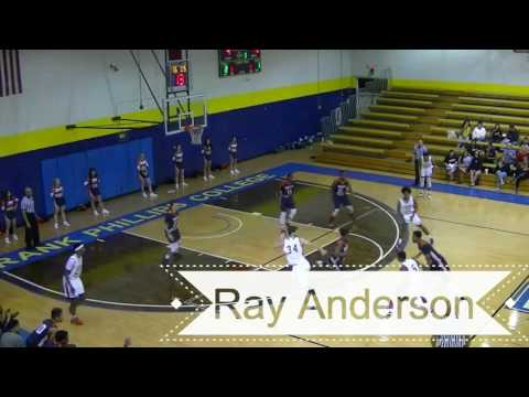 Ray Anderson Frank Phillips College Men's Basketball 2016 2017