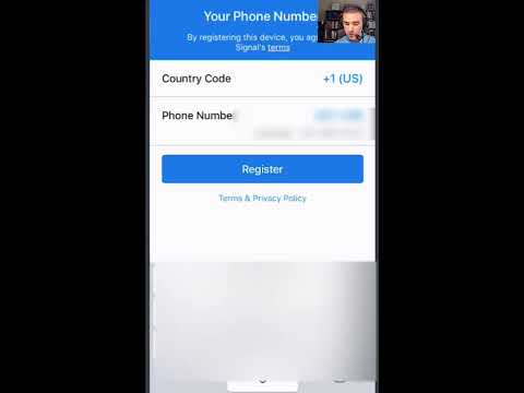 How To Download & Set Up Signal Private Messenger App