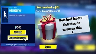 VOUS POUVEZ MAINTENANT GIFT SKINS TO YOUR FRIENDS in FORTNITE!! 🎁😱