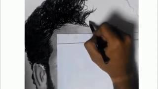 Drawing Timelapse : Mohamed Salah