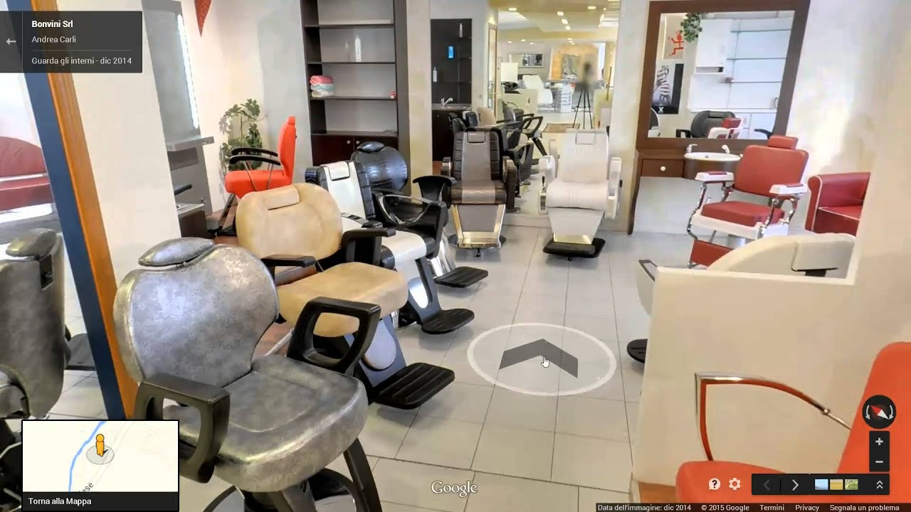 guarda lo showroom arredamenti per parrucchieri