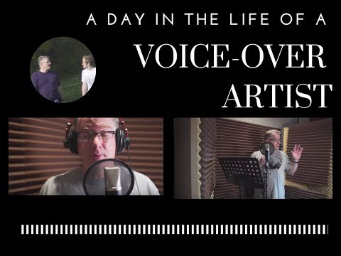 Voice-Over Actor - A Day in the Life of a Voice-Over Artist