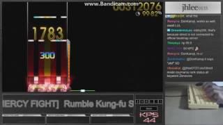 Jhlee0133    t+pazolite - Rumble kung-fu Showdown[7k no mercy fight]