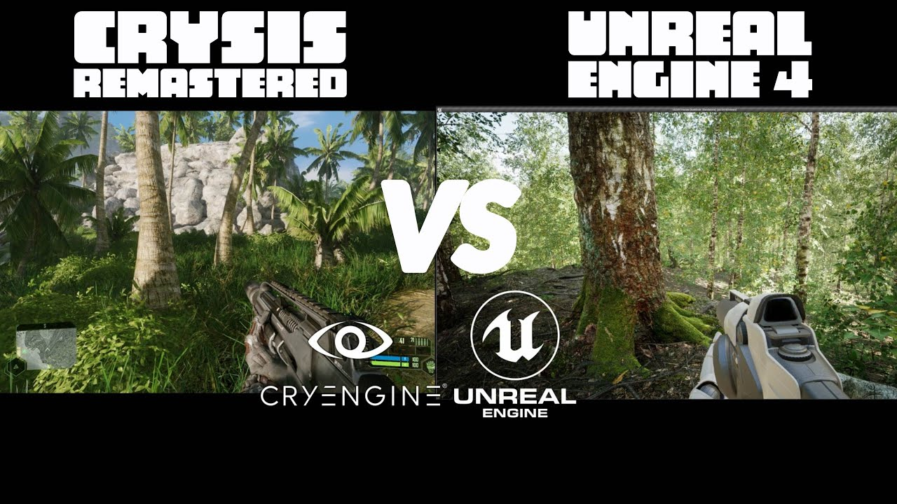 Download Unreal Engine 4 RTX 3090 Realistic Forest vs Crysis
