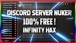 Hack Discord Server | Nuker For Discord | Working 2020 | Infinity H4X