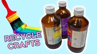 3 Quick and Easy Designs With Recycle Medicine Bottles| Best Out of Waste