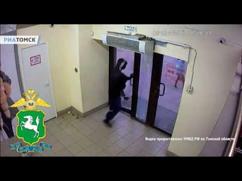 Томские полицейские после погони задержали участника ограбления