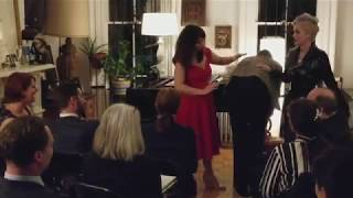 A dominatrix teaches an opera singer how to spank