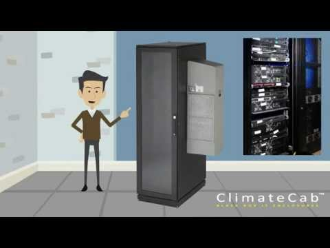 ClimateCab Cabinets: Save by cooling the cabinet and not the entire room
