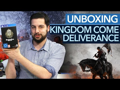 Kingdom Come: Deliverance - Unboxing der Collector's Edition
