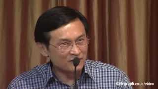 Thai minister arrested for condemning coup