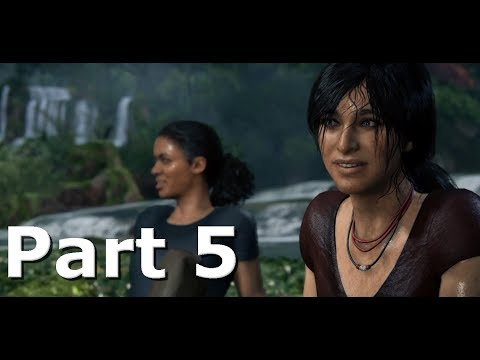 Uncharted 5 : The Lost Legacy - PART 5  Little Bit Of Luck  - (PS4 Gameplay)