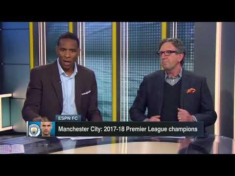 ESPN FC TV - 4/16/2018 BARCELONA, MAN CITY 17/18 CHAMPIONS