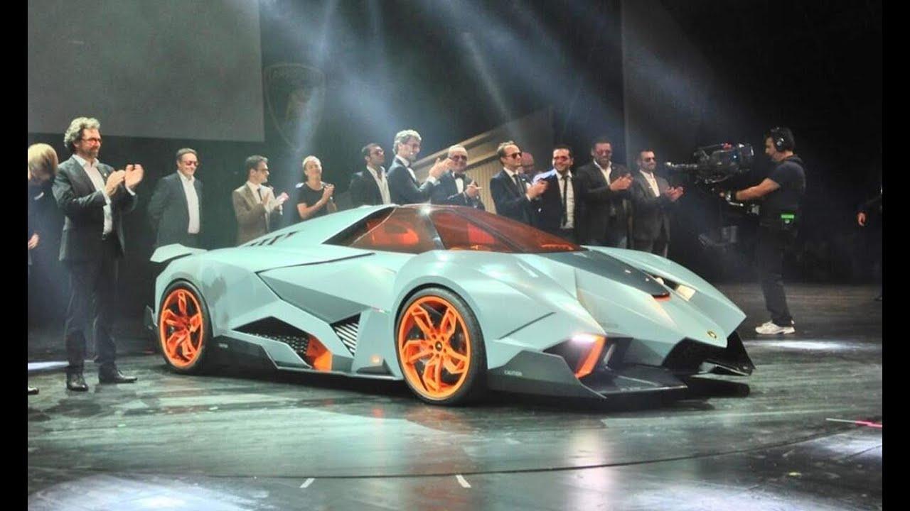 The Lamborghini Egoista Is A Crazily Wild Concept Car That