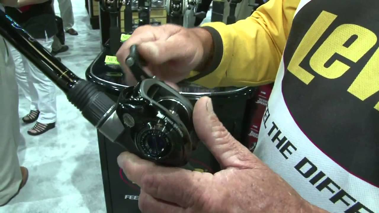 ICAST 2013: Lew's BB-1 Pro Series reel & David Fritts cranking rod