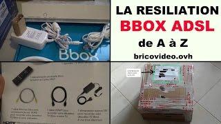 résiliation bbox bouygues télécom : la procédure sans frais postaux