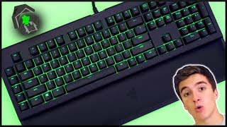 The Razer Blackwidow Chroma V2 Mech Gaming Keyboard!