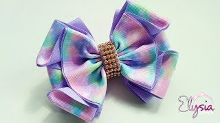 Laço Mallika II Ribbon Bow Tutorial DIY by Elysia Handmade Top TEN ...