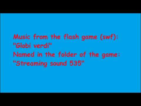 "Music from the flash game (swf) ""Globi verdi"""
