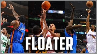 How to Shoot a Floater With Derrick Rose, Rajon Rondo, and Chris Paul: Basketball Moves