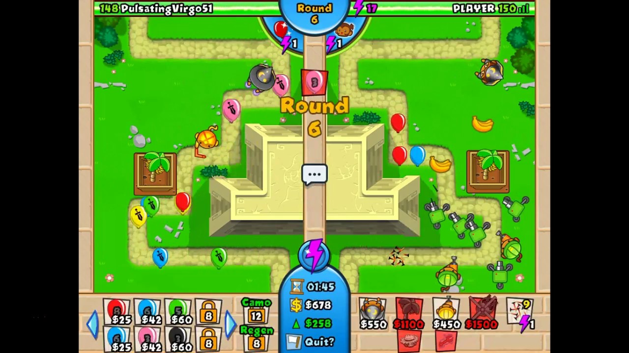 Bloons tower defencewatermelon gaming play