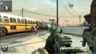 Call of Duty: Black Ops - multiplayer gameplay - Headquarters on Nuketown HD 60k 35d