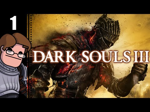 Let's Play Dark Souls 3 Part 1 - Iudex Gundyr Boss Fight (He