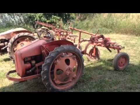 John Deere L, Allis Chalmers G, Auction August 2nd, Hicksvi