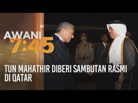 Tun Mahathir diberi sambutan rasmi di Qatar