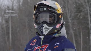 Levi LaVallee in North Bay on the Hometown Tour