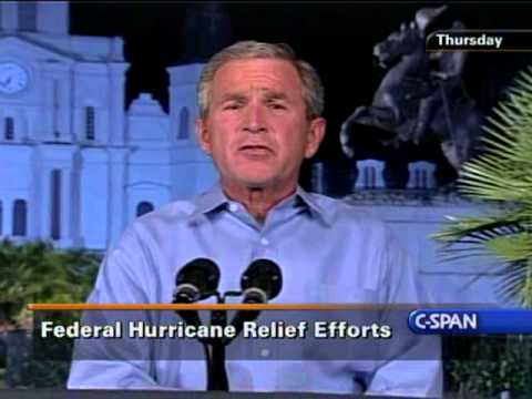 George W. Bush Full Speech on Katrina from Jackson Square