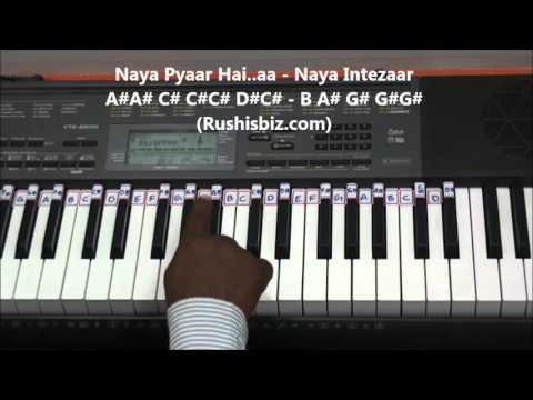Pehla Nasha - Piano Tutorials - Jo Jeeta Wohi Sikandar   600 Songs BOOK/PDF @399/- Only - 7013658813