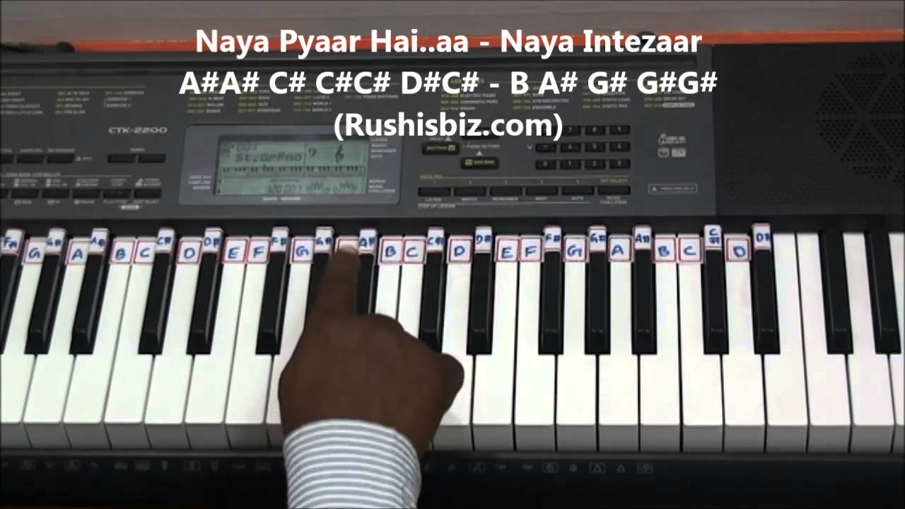 Pehla Nasha Piano Tutorials - Jo Jeeta Wohi Sikandar - YouTube