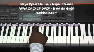 Pehla Nasha Piano Tutorials - Jo Jeeta Wohi Sikandar