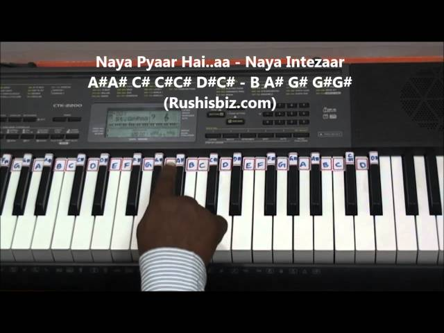 Pehla Nasha Piano Notes Video Tutorials Rushis Biz Music