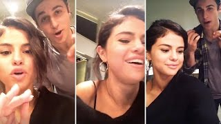 Selena hanging out with wowp co-star david henrie on her instagram story subscribe for daily uploads of all your favourite celebrity snapchats follow me t...