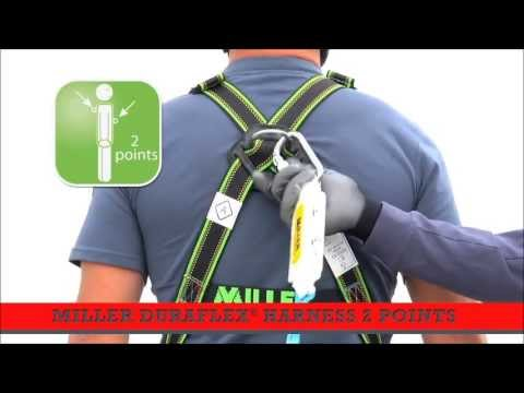 How to Put on a Safety Harness - Working at height