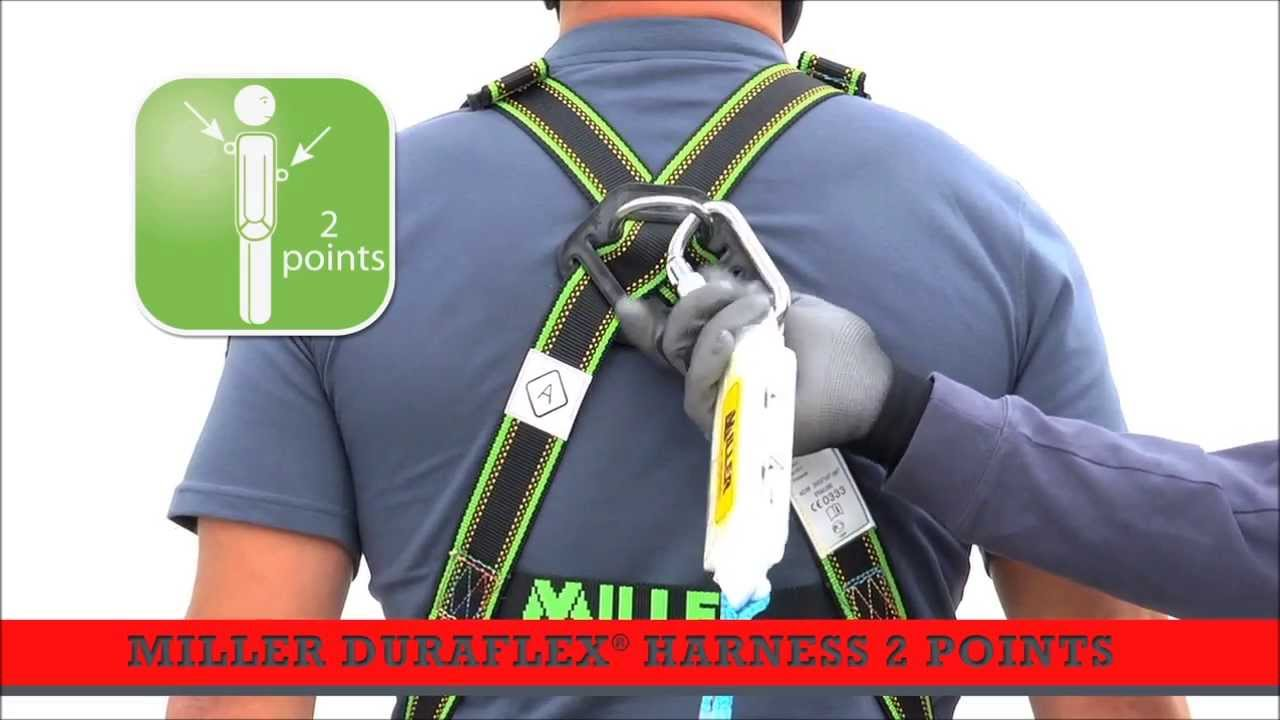Put on a Safety Harness - Working at height - YouTube
