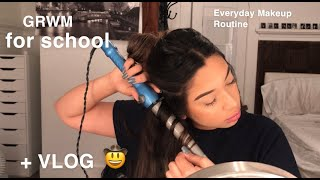 Download GRWM FOR SCHOOL/EVERYDAY MAKEUP ROUTINE + THE VLOG YOU NEVER ASKED FOR Mp3 and Videos