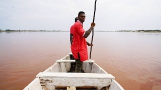 Dakar, Senegal: Pink Lake (Lac Rose) - VIDEO TOUR