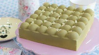 Tarta fría de manzana verde - Receta - María Lunarillos | tienda & blog