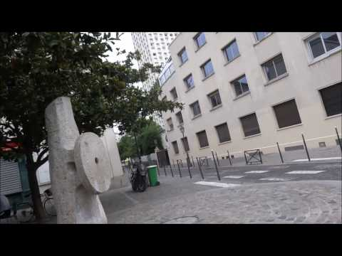 Visit of Paris 20th Distric France