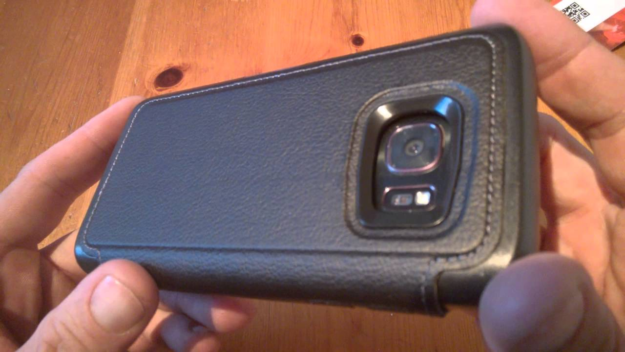 Otterbox Review - Strada series leather case for the Samsung Galaxy S7 - YouTube