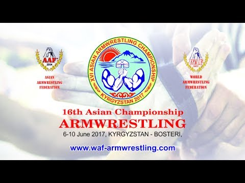 2017 Asian Armwrestling Championsip Seniors Right Hand Table 2