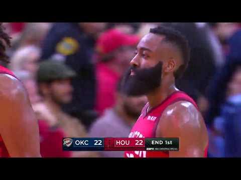 Oklahoma City Thunder vs Houston Rockets | December 25, 2018