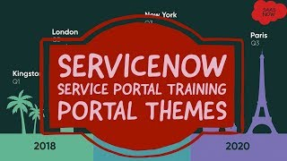 #5 ServiceNow Service Portal Training | Portal Themes